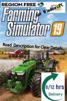 🍄Farming Simulator 19🍄 Game Account🍄 for Windows PC🍄Region Free🍄100%