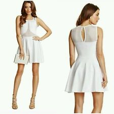 ❤NWT GUESS BY MARCIANO WHITE Kanya Bandage Dress SIZE S ❤
