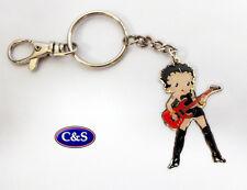 Betty Boop - Betty Rocks- Key ring/chain - (KR974)
