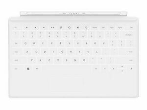 Microsoft D5S-00002 Surface Touch Cover QWERTY Keyboard - White