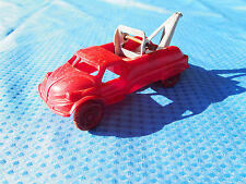 "Vintage 1940's Acme ""Road Service"" Tow Truck Wrecker Red Toy Vehicle"