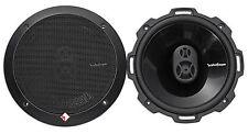 "Pair Rockford Fosgate Punch P1675 220w 6.75"" 3-Way Full Range Car Audio Speakers"