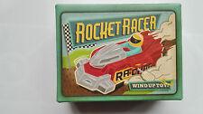 WIND UP RETRO TOY AERODYNAMIC ROCKET RACER~ WIND UP ROCKET RACE CAR DESIGN 16558