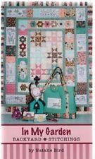 In My Garden - Stitchery & Pieced quilt Booklet - The Birdhouse