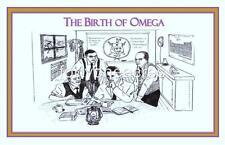 "BIRTH OF Series - Omega Psi Phi Print - BIRTH OF OMEGA 11"" x 17"" Version 5"