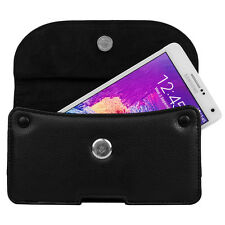 VanGoddy Belt Clip Phone Pouch Wallet Case for iPhone 7 / 8 Plus/ HTC U12+/LG G7