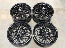 "20"" 666M M4 Competition Style Wheels Satin Black BMW F80 F82 F83 M3 M4 Fitment"