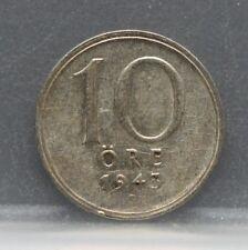Sweden - Zweden 10 Ore 1943 - KM# 813