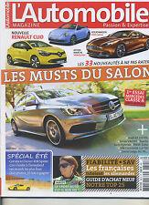 L'AUTOMOBILE MAGAZINE n°795 08/2012