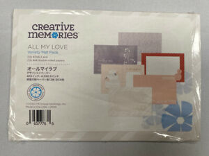 "New (opened but complete) Creative Memories ""All My Love"" Variety Mat Pack"