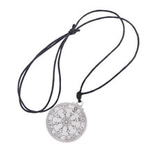 Alchemy Solomon Seal Talisman Pendant Charm Neckalce Good Luck Silver Chain 1 Pc