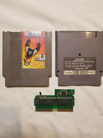 NES Nintendo Video Game WOLVERINE Cartridge Only Authentic Cleaned TESTED!