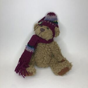 """Pickford Bears The Brass Button Bear Collection """"Dooley"""" w/Scarf"""