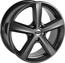 """Alloy Wheels 17"""" Team Dynamics Cyclone Anthracite For Jaguar X-Type 01-09"""