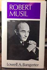 Robert Musil by Lowell Bangerter (1988, Hardcover)