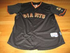 TIM LINCECUM No 55 SAN FRANCISCO GIANTS Button-Down (Size 54) Baseball Jersey