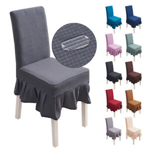 Waterproof Skirt Dining Table Chair Cover Restaurant Chair Skirt Cover stool aaa