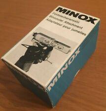 Minox Universal Binocular Attachment for Subminiature Minox Spy Camera e scatola