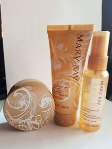 Mary Kay Creamy Frosted Vanilla Gift Set Body Butter, Mist, & Wash