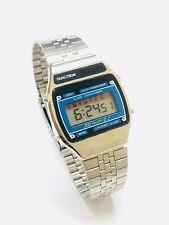 Vintage Qualtron Melody Lcd Alarm Chronograph  Digital Wrist Watch NOS (19084M)