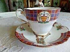 Royal Standard Bonnie Écosse Clan Cameron Tasse et Soucoupe
