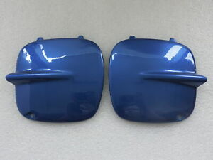NEW Fog Light Covers For 1997 98 99 2001 Subaru Impreza STI GC8 2/5 Door Blue