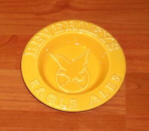 1960's..BEVERLEYS EAGLE ALES..POTTERY ASHTRAY..MINT CONDITION.