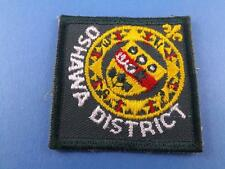 BOY SCOUTS CANADA OSHAWA ONT PATCH COLLECTOR BADGE