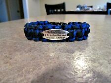 The Love Between a Grandmother & Grandson is Forever Paracord Bracelet-handmade