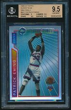 1996-97 Topps Mystery Finest Super Team Finals Refractor Patrick Ewing BGS 9.5