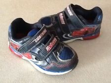 Light up Lightning Mcqueen toddler shoes Size 9