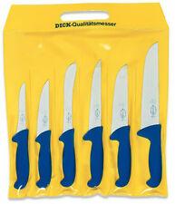 FDick 6 pc ErgoGrip Series Knife Set Ergo Butcher Sticking Trim Boning 8256200
