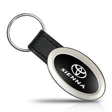 Toyota Sienna Oval Style Metal Key Chain Key Fob