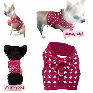 Red Star Harness Chihuahua Dog Cat Kitten Puppy Rabbit Escape Proof Harness