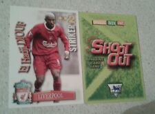 SHOOT OUT CARD 2003/04 (03/04) - Green Back -Liverpool - El Hadji Diouf