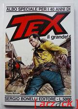TEX Texone ALBO SPECIALE n 1 Tex il grande BONELLI 1988 G. Buzzelli