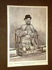 Venezia nel 1881 Esposizione geografica Statua di Marco Polo venuta dalla Cina