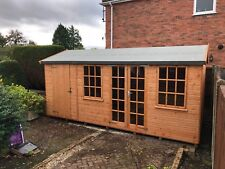 16X8 summer house, shed, multi building with partition, wooden garden building.