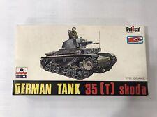 Maquette Kit ancien ESCI 1/72 ref 8025 German Tank 35 T skoda - Neuf