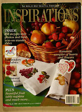 Inspirations Magazine Issue No 8 with Patterns VG Qld Copy Qikpost B