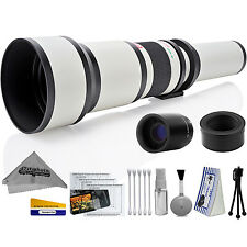 Opteka 650-2600mm High Definition Ultra Telephoto Zoom Lens for Nikon 1-mount