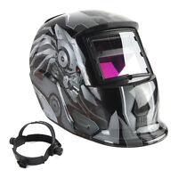 Solar Auto Darkening Welding Helmet TIG MIG Weld Welder Lens Grinding Mask CT