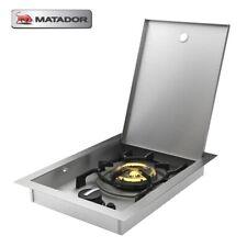 Matador WOK Burner LPG Side Burner for Built in BBQ Electronic Ignition with Lid