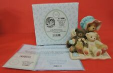 2001 Cherished Teddies Mom/Kids Figurine 978841-Mothers Day