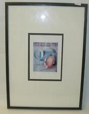 "Unl. Sign. grafica, ""O. come order"" 1992,nr.37/650, Ger/vetro (251/13019)"
