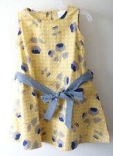 NWT ~ Persnickety Yellow Floral Ella Dress Girl's Size 6 yr.