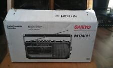 SANYO cassette radio tape recorder  M 1740H in package