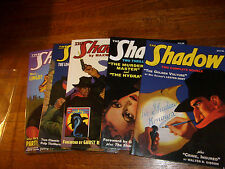 SHADOW PULP DOUBLE REPRINTS: #1, 4, 7, 8, 9.. nostalgia ventures (SANCTUM BOOKS)