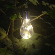 Outdoor Garden Hanging Solar LED Light Rotatable  Camping Lamp Bulb Waterproof
