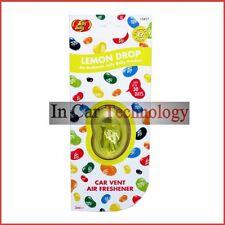 Jelly Belly Bean Car Vent Air Freshener Freshner Fragrance - LEMON DROP